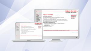 Heim & Ruf, Website 2.0 |