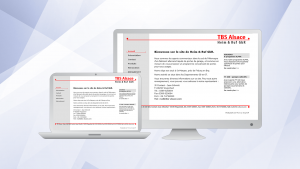 TBS Alsace, Website |
