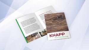 Knapp, Garantie- und Servicekarte für Eichenholz |